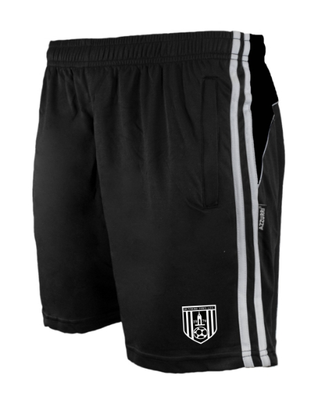 Picture of DUNMORE AFC Brooklyn Leisure Shorts Black-Black-White