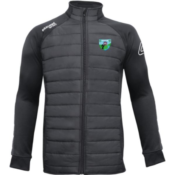 Picture of st brigids lgfa adults Padded Jacket Black-Black
