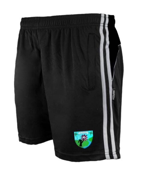Picture of st brigids lgfa Brooklyn Leisure Shorts Black-Black-White