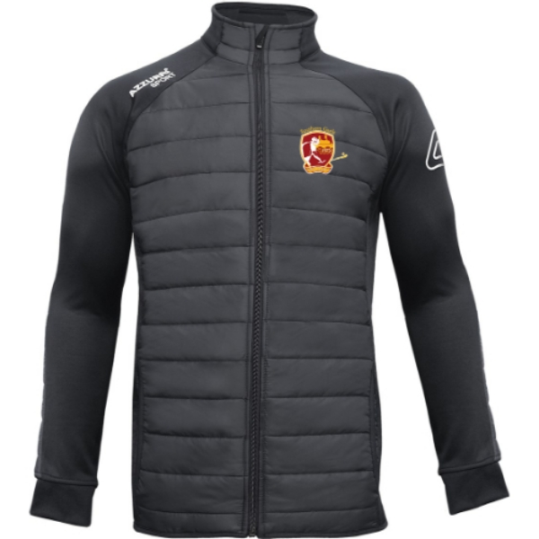 Picture of SOUTHERN GAELS ADULTS Padded Jacket Black-Black