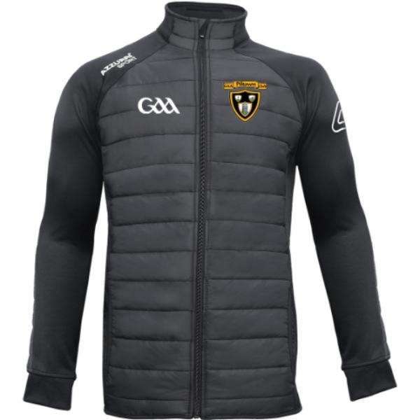 Picture of PILTOWN GAA ADULTS Padded Jacket Black-Black