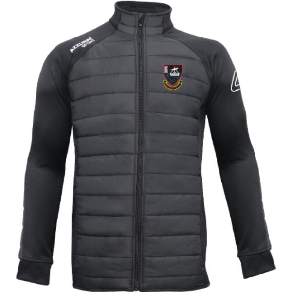 Picture of YOUGHAL RFC KIDS Padded Jacket Black-Black