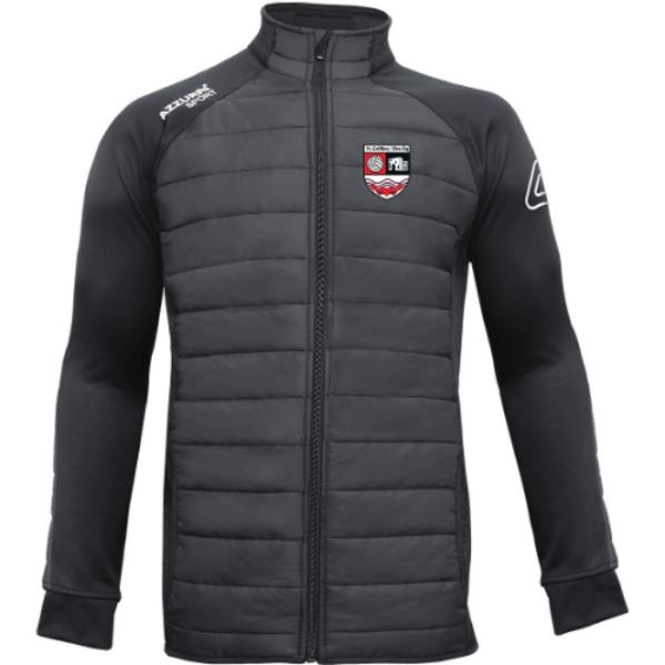 Picture of fr griffins eire og adults Padded Jacket Black-Black