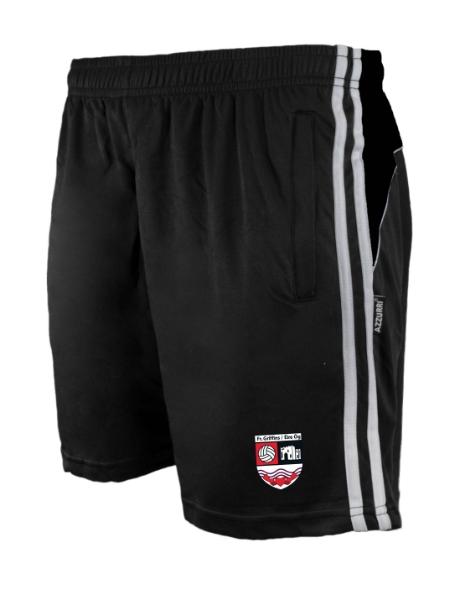 Picture of fr griffins eire og Brooklyn Leisure Shorts Black-Black-White
