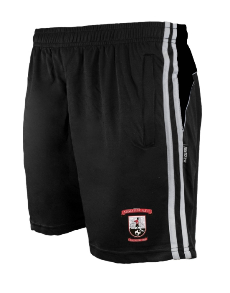 Picture of Abbeyside afc Brooklyn Leisure Shorts Black-Black-White