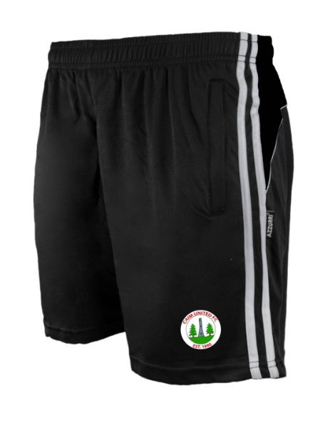 Picture of caim united Brooklyn Leisure Shorts Black-Black-White