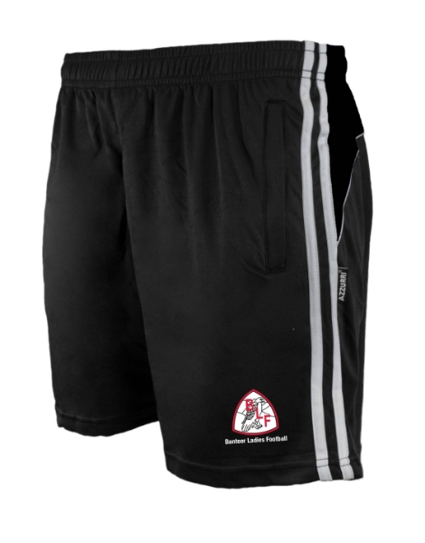 Picture of Banteer LGFA Brooklyn Leisure Shorts Black-Black-White