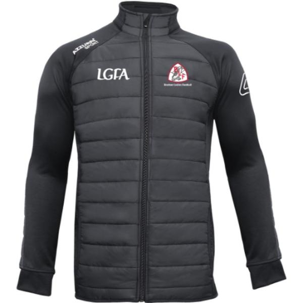 Picture of banteer lgfa adults Padded Jacket Black-Black