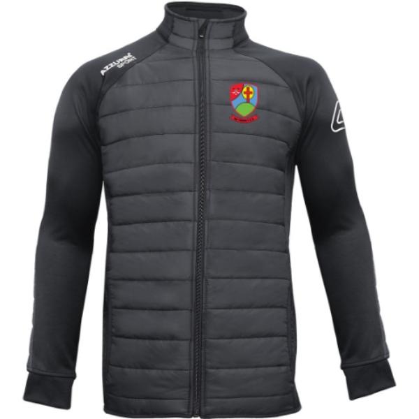 Picture of Na Fianna Hurling Club kids Padded Jacket Black-Black