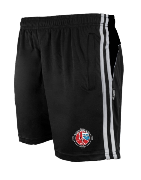 Picture of valleymount Brooklyn Leisure Shorts Black-Black-White