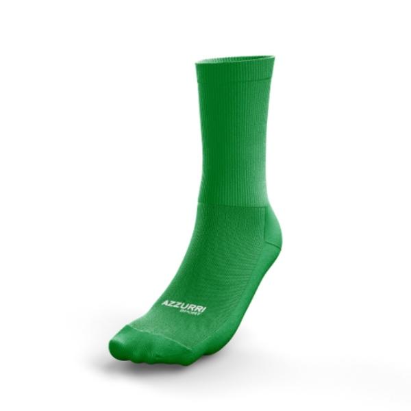 Picture of CLONAKILTY LGFA GREEN HALF SOCKS Emerald