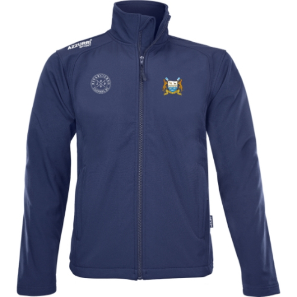 Picture of clonmel rowing Soft Shell Fleece Kids Navy