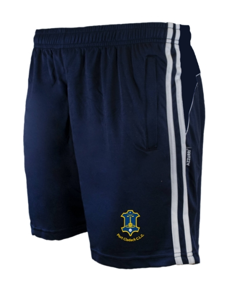 Picture of portlaw gaa Brooklyn Leisure Shorts Navy-Navy-White