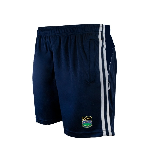 Picture of knockshegowna Brooklyn Leisure Shorts Navy-Navy-White