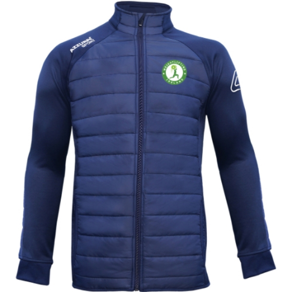 Picture of WEIGHTLIFTING IRELAND adults Padded Jacket Navy-Navy