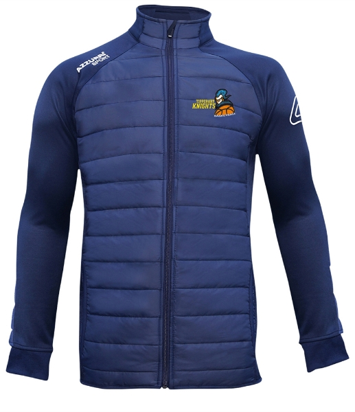 Picture of tipperary Knights adults Padded Jacket Navy-Navy