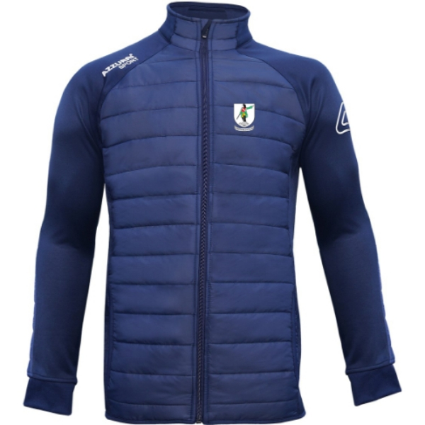 Picture of KNOCKANE GAA ADULTS Padded Jacket Navy-Navy