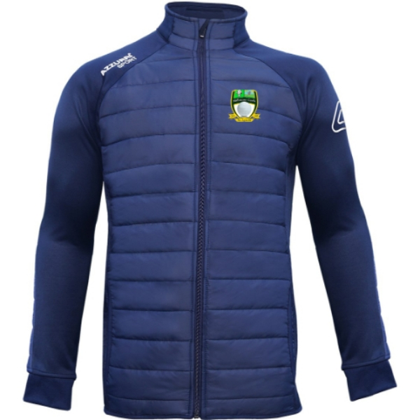 Picture of milmore gaels adults Padded Jacket Navy-Navy