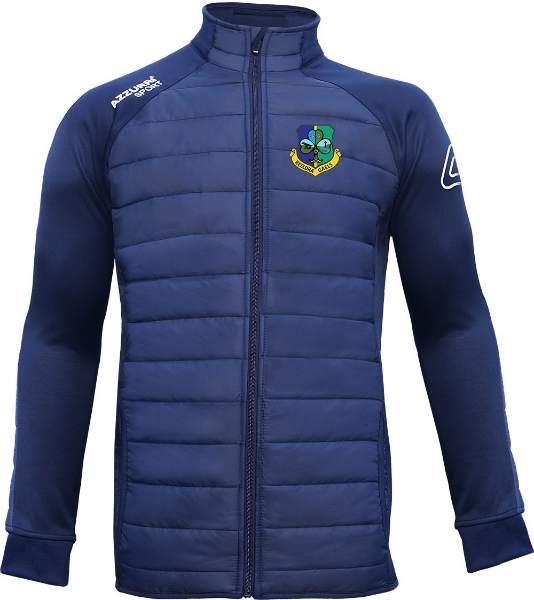Picture of keeldra gaels adults Padded Jacket Navy-Navy