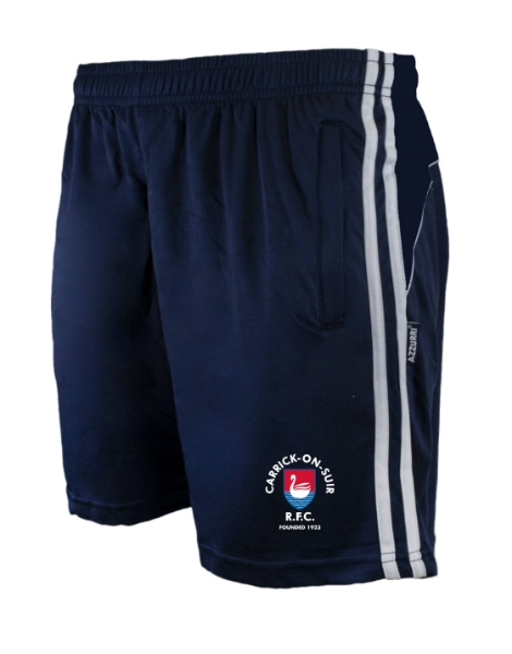Picture of carrick rfc Brooklyn Leisure Shorts Navy-Navy-White