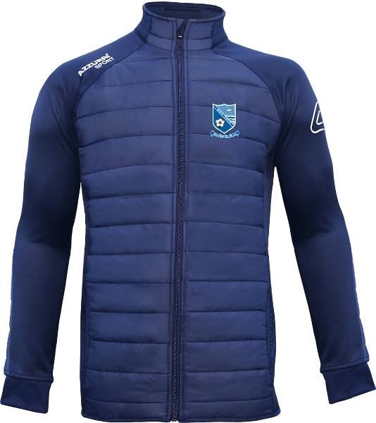 Picture of seaview celtic adults Padded Jacket Navy-Navy