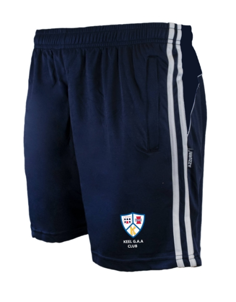 Picture of keel gaa Brooklyn Leisure Shorts Navy-Navy-White