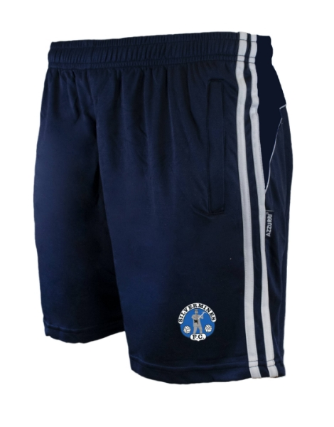 Picture of silvermines fc Brooklyn Leisure Shorts Navy-Navy-White