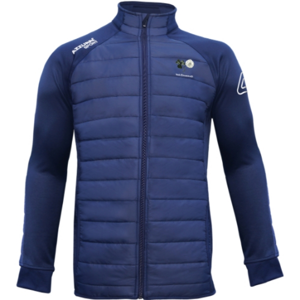 Picture of york gaa adults Padded Jacket Navy-Navy