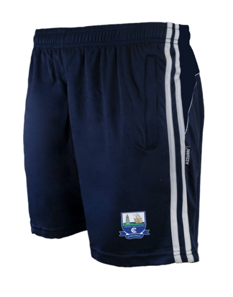 Picture of waterford camogie Brooklyn Leisure Shorts Navy-Navy-White