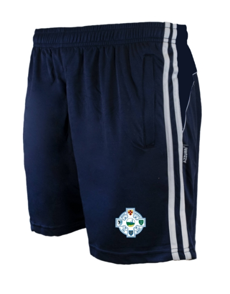 Picture of tramore camogie Brooklyn Leisure Shorts Navy-Navy-White
