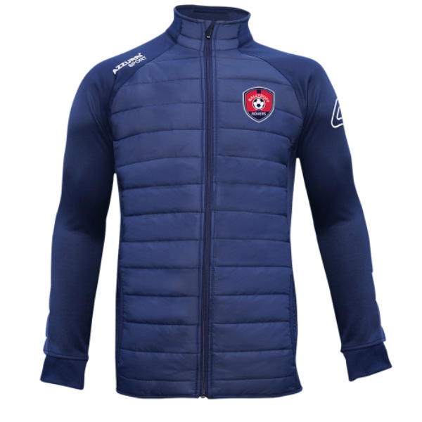 Picture of ballyduff rovers adults Padded Jacket Navy-Navy