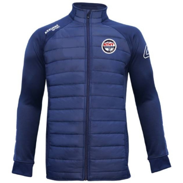 Picture of Athy Triathlon Club adults Padded Jacket Navy-Navy