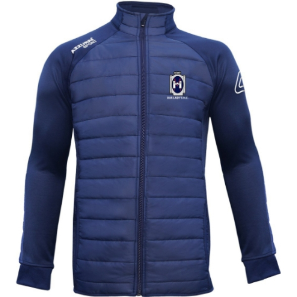 Picture of OUR LADYS HOCKEY Padded Jacket Navy-Navy