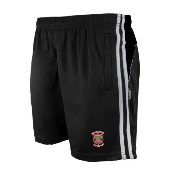 Picture of old christians gaa Brooklyn Leisure Shorts Black-Black-White