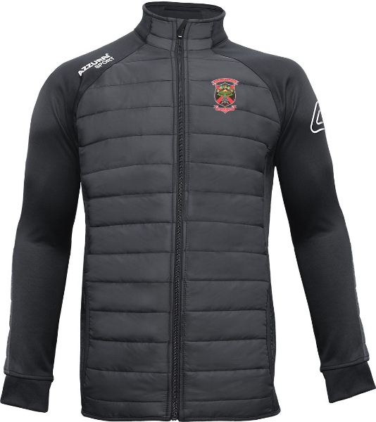 Picture of old christians gaa adults Padded Jacket Black-Black