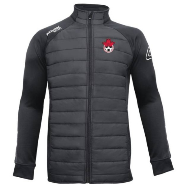 Picture of redcastle fc adults Padded Jacket Black-Black
