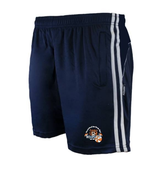 Picture of waterford wildcats Brooklyn Leisure Shorts Navy-Navy-White