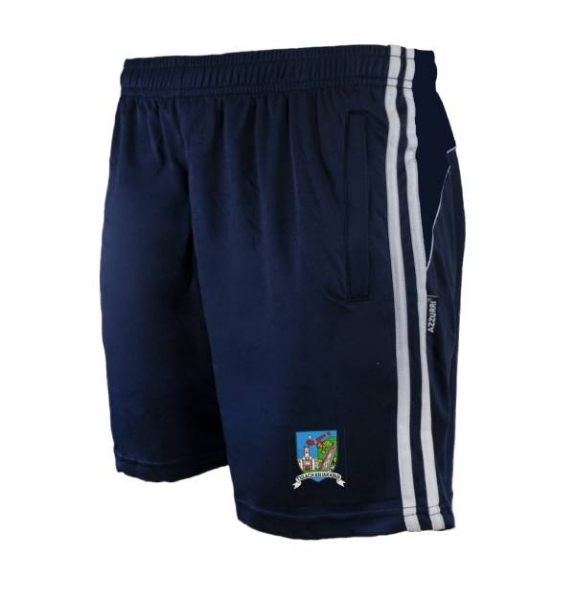 Picture of tallow camogie Brooklyn Leisure Shorts Navy-Navy-White