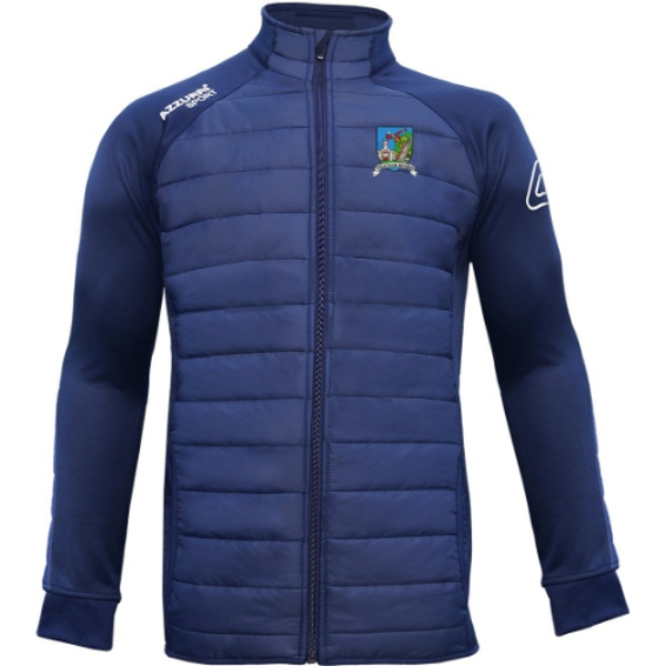 Picture of tallow camogie kids Padded Jacket Navy-Navy