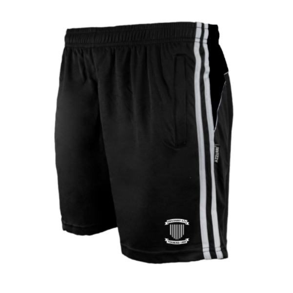 Picture of knockainey fc Brooklyn Leisure Shorts Black-Black-White