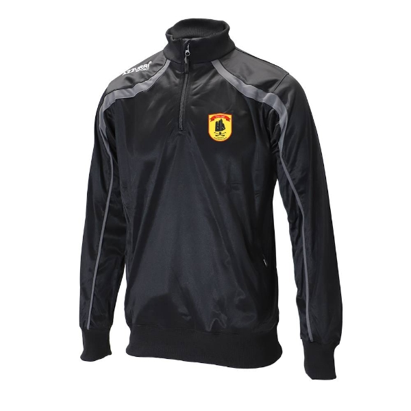 Picture of dunhill gaa Half Zip-Tricot-Adult Black-Slate Grey