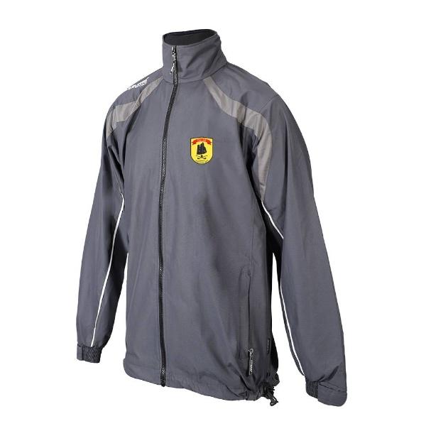 Picture of dunhill gaa Brosna Rain Jacket Gunmetal Grey-Slate Grey-White
