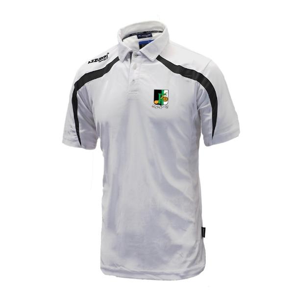 Picture of innisfails gaa Classic Poloshirt White-Black