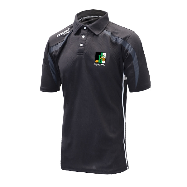 Picture of innisfails gaa Classic Poloshirt Black-Grey-White