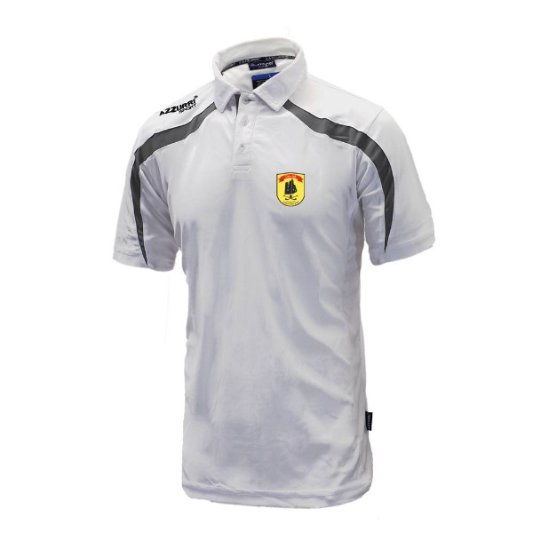 Picture of dunhill gaa Classic Poloshirt White-Grey
