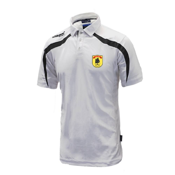 Picture of dunhill gaa Classic Poloshirt White-Black