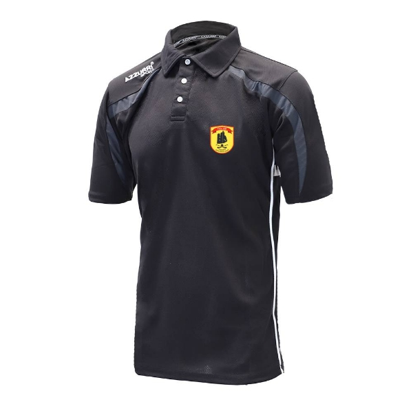 Picture of dunhill gaa Classic Poloshirt Black-Grey-White
