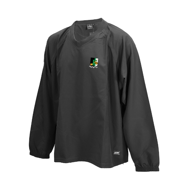 Picture of innisfails gaa Ripstop V Neck rugger Black