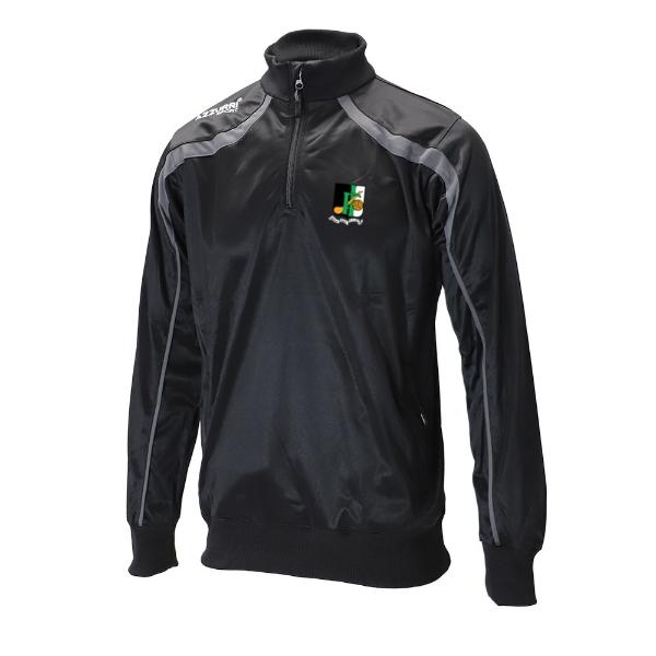 Picture of innisfails gaa half zip Top-Tricot Black-Slate Grey