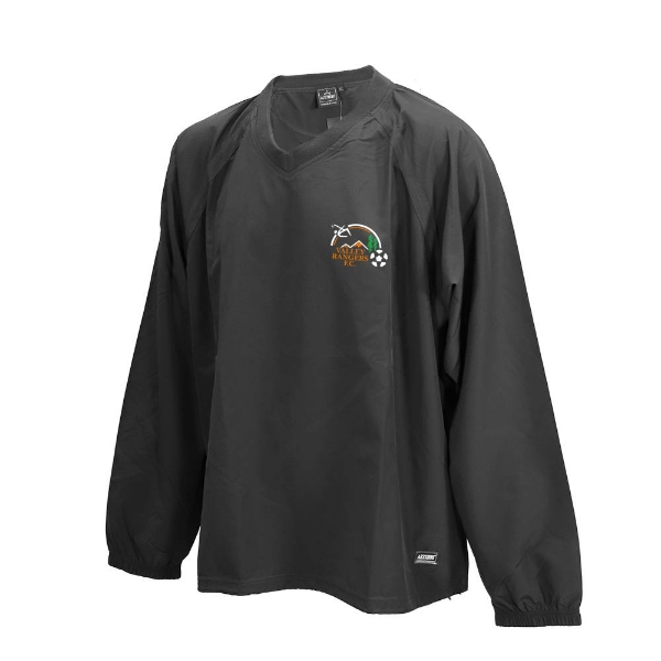 Picture of Valley Rangers Ripstop V Neck Rugger Black